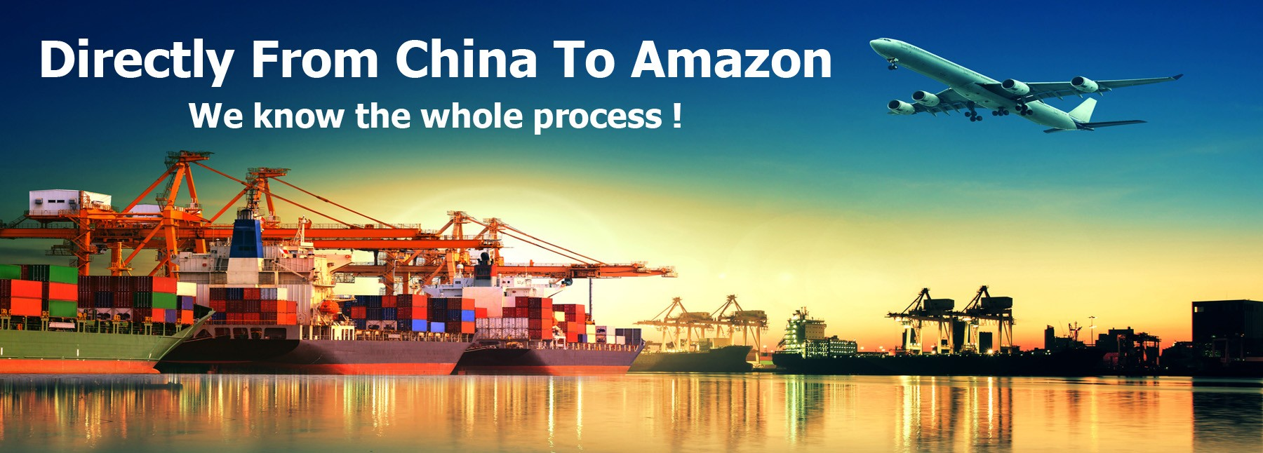 Directly from China to Amazon