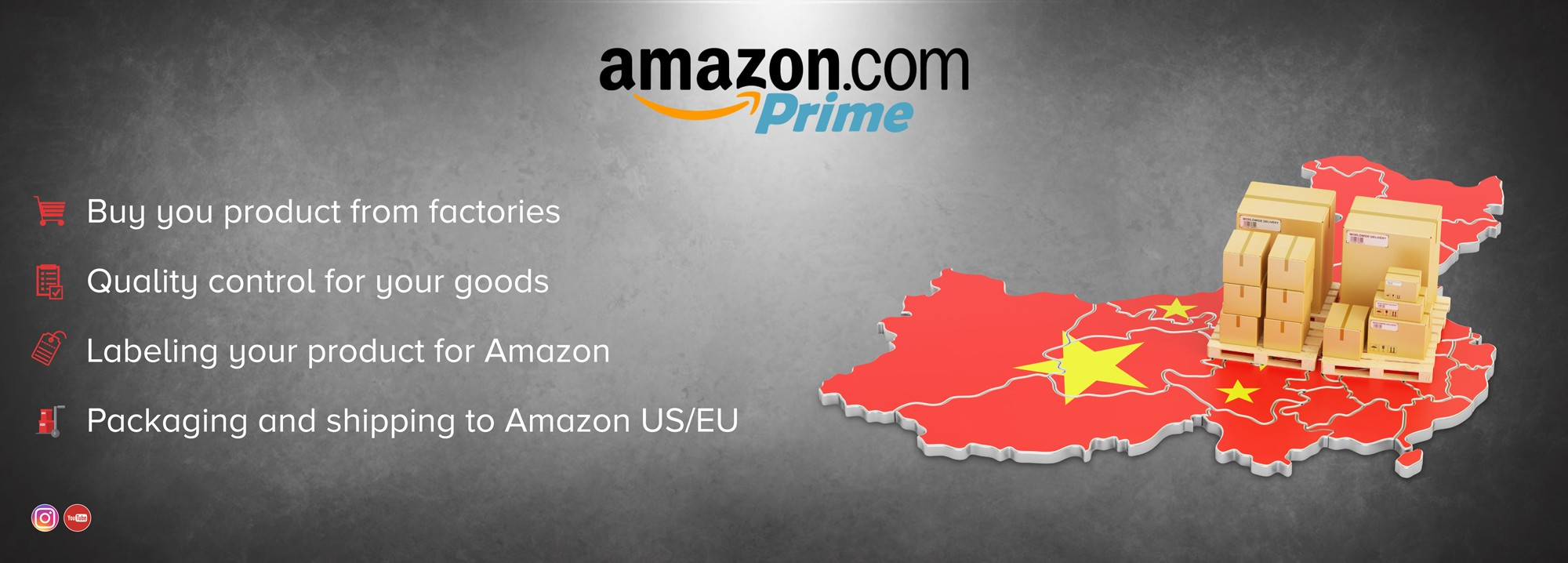 Ship your Amazon stock directly from China